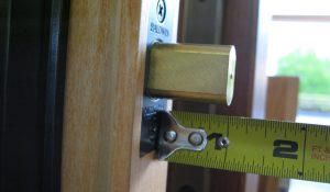 You may need a locksmith to make deadbolts more secure by making sure the throw extends a full 1 inch and properly operates